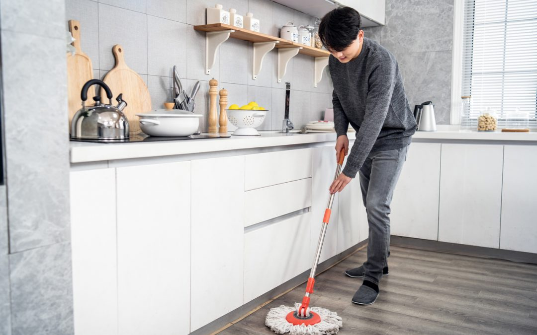 Can you clean your kitchen with bleach?